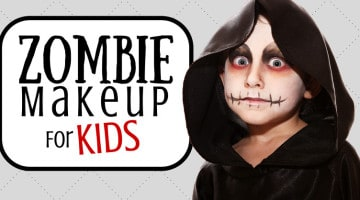 Zombie Makeup For Kids: 7 Ghastly Tips